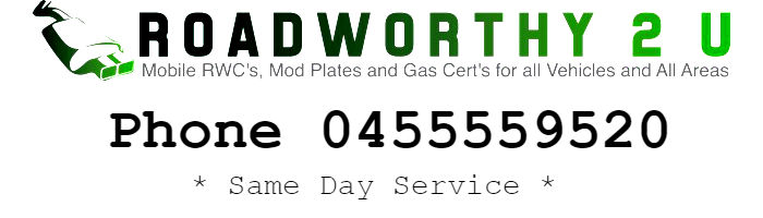 Roadworthy 2 U Mobile RWC Sunshine Coast Brisbane Hervey Bay Bundaberg Cairns